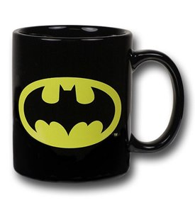 Batman symbol ceramic mug