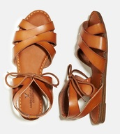 shoes,brown,sandals,leather,gladiators,summer,love,stappy,american eagle outfitters