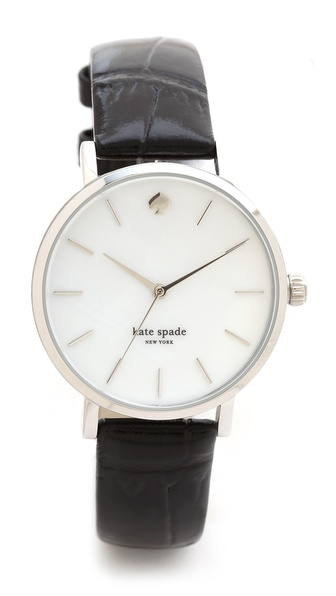 Kate Spade New York Embossed Alligator Metro Watch | SHOPBOP