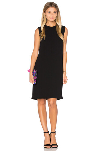 dress shift dress sleeveless black