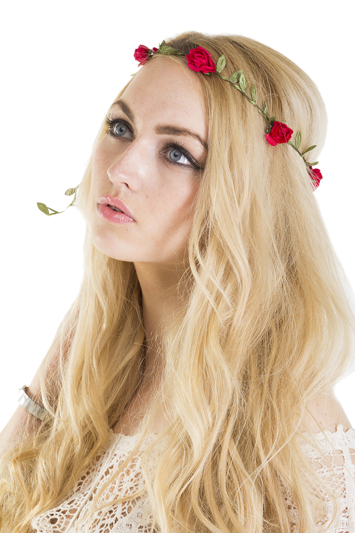 Floral Crowns : Rose Crown