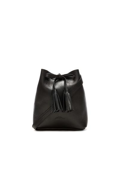 Shaffer The Greta Bucket Bag in black