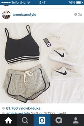 top,shorts,shoes,shirt,roshie run,black and gray,nike running shoes,fashion,nike roshe run,nike,white,calvin klein underwear,calvin klein bra,style,crop tops,hat,grey,pants,shortd,black,sporty,sportswear,gym,sports pants,athleta,low top sneakers,NA-KD Fashion,workout,short,braci?re,calvin klein,gris,sports shoes,nike shoes,sports bra,nike sneakers,nike sportswear,tumblr,tumblr outfit,tumblr clothes,tumblr girl,tumblr shirt,black and white,black top,black crop top,white shoes,white top,white sneakers,athletic,running shoes,sports shorts,cotton,hipster,chic,clothes,outfit,outfit idea,cute outfits,light,lifestyle,girly,girl,girly outfits tumblr,instagram,bra,be an athlete,comfy,cozy,comfy black tee,grey shorts,tank top,blue,blouse,grey and black,dolphin shorts,romper,pyjama shorts,summer outfits,summer top,marine blue,cosy day,blue and gray,home outfits