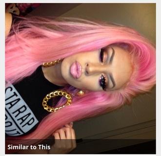 jewels goldearrings pink hair shirt earrings earrigs big earrings jewelry earrings