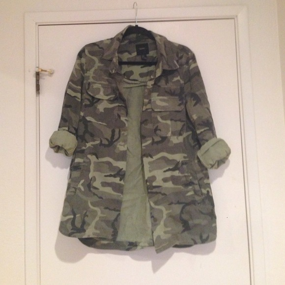 20% off  Jackets & Blazers - Camouflage jacket from Joslyn's closet on Poshmark