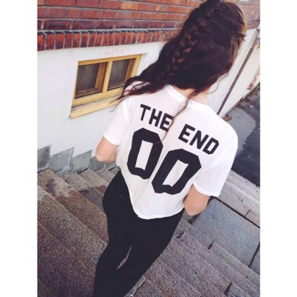 t-shirt the endless summer shirt team 00 hairstyles black and white denim