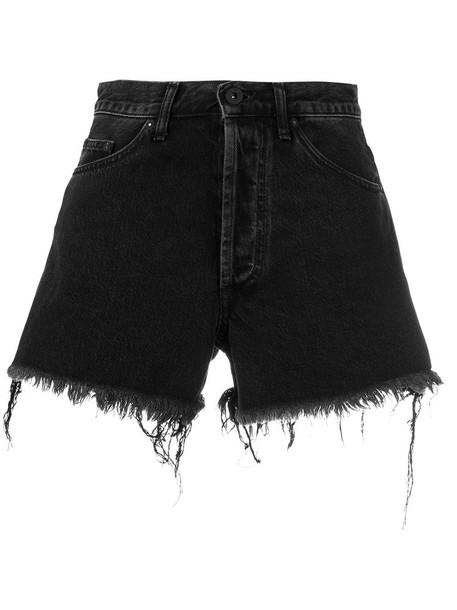 Off-White shorts women cotton black