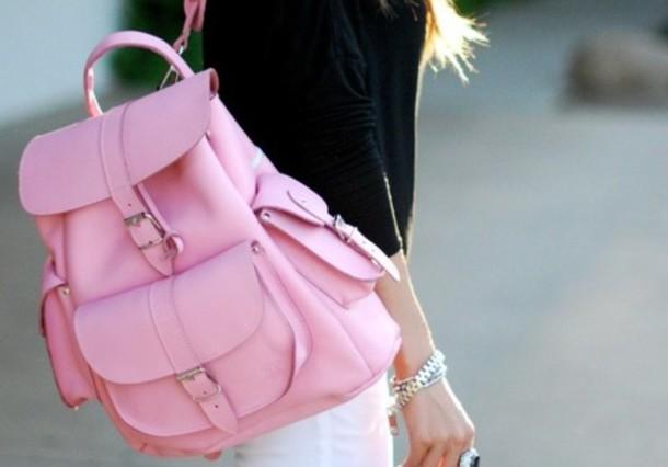 068912ed8e4e bag style fashion trendy backpack backpack bag purse purse canvas backpack  canvas pink rucksack back to