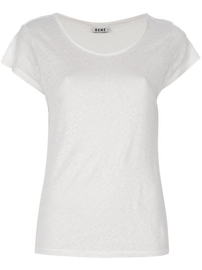 Acne 'copy' T-shirt -  - Farfetch.com