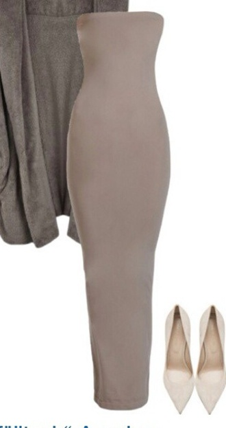 dress nude dress style fashion