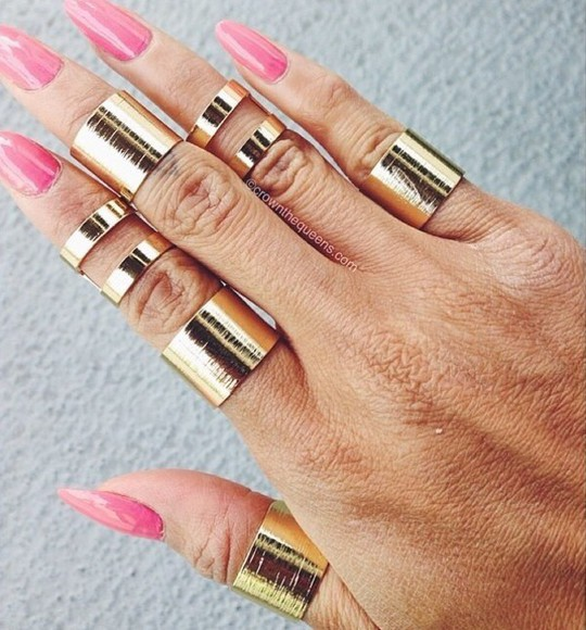 jewels cuff ring knuckle ring