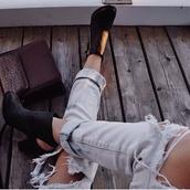 black,shoes,heels,jeans,booties,black booties,boots,heeled booties,booties black,heel boots,heel boots black,zip,black shoes,black heels,black boots