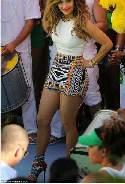 shorts aztec print shorts