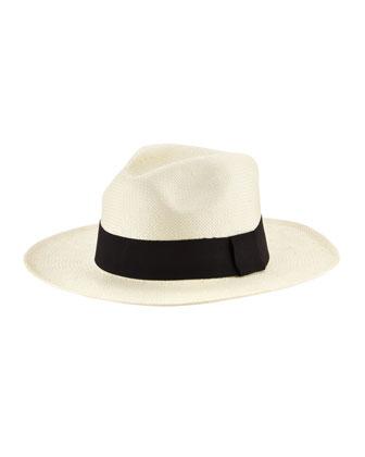 Michael Stars Well Weathered Classic Panama Hat - Neiman Marcus
