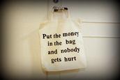 bag,money,white,black,black and white,big purse