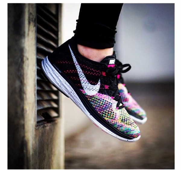Shoes Nike Colorful Sneakers Running Shoes Sport ...