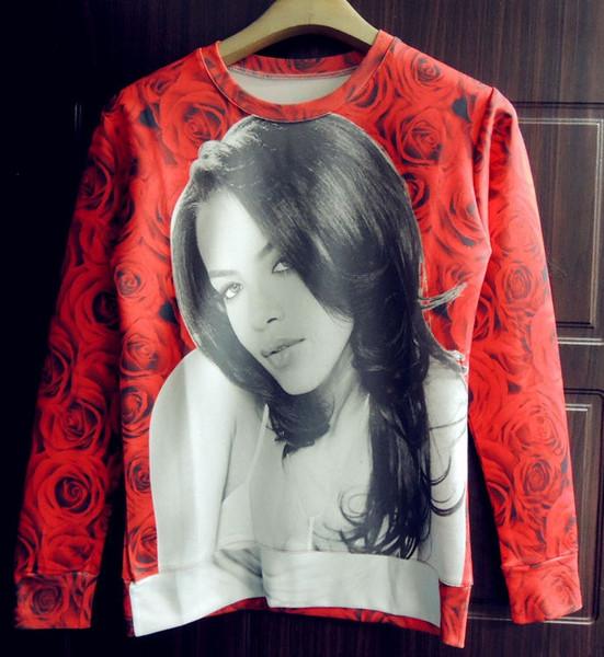 Aliyah Forever Print Sweater – Glamzelle