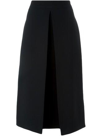skirt midi skirt midi black