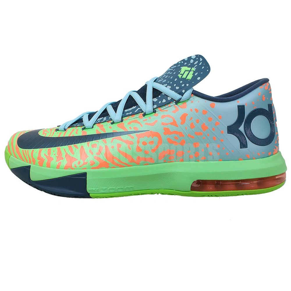 Nike KD VI 6 Liger Animal Kevin Durant 2014 Mens Basketball Shoes Zoom Air Max | eBay