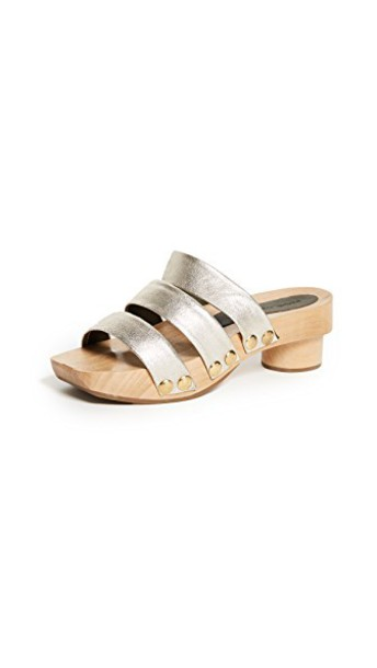 Rachel Comey gold white shoes