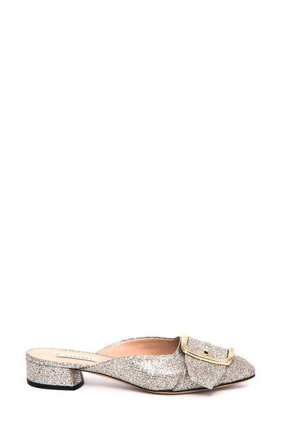CASADEI metallic shoes