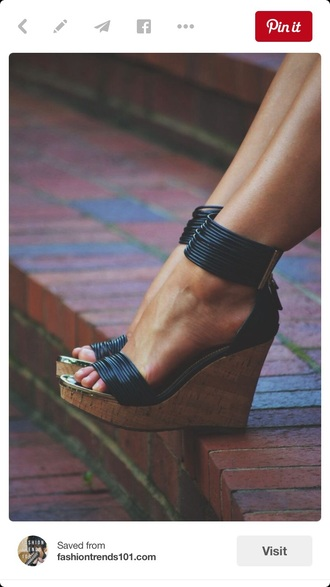 shoes wedges style black black heels strappy summer summer outfits strappy heels