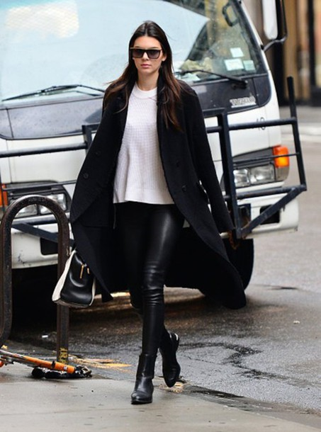 coat bag pants kendall jenner