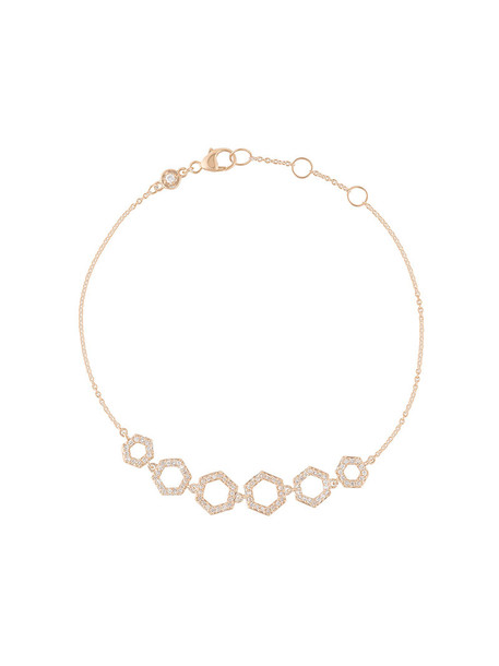 Astley Clarke rose gold rose women gold grey metallic jewels