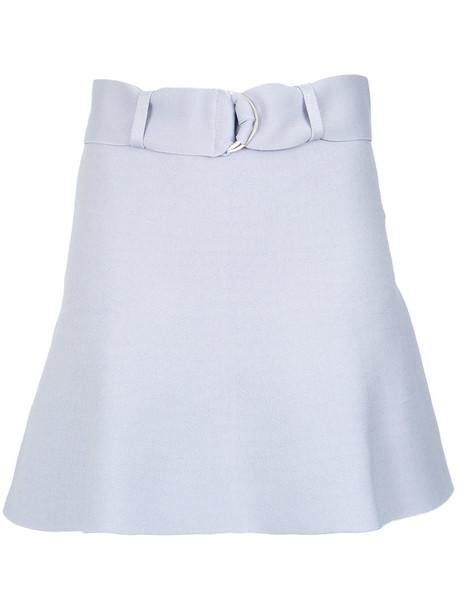 skirt short skirt short women spandex blue