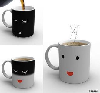 jewels tea cup wake up home accessory magic cup cute mug breakfast