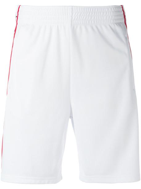 Givenchy logo stripe Bermuda shorts, Women's, Size: 38, White ...