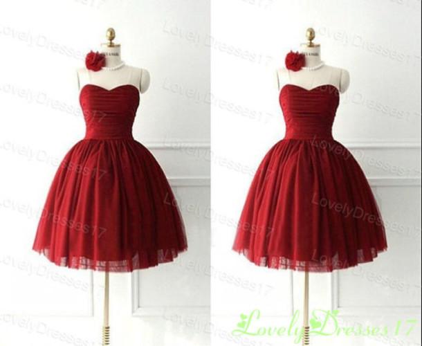 dress, vintage, red dress, ball gown dress, prom, prom dress ...
