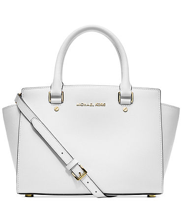 Michael Kors Selma Medium Satchel - Handbags & Accessories - Macy's