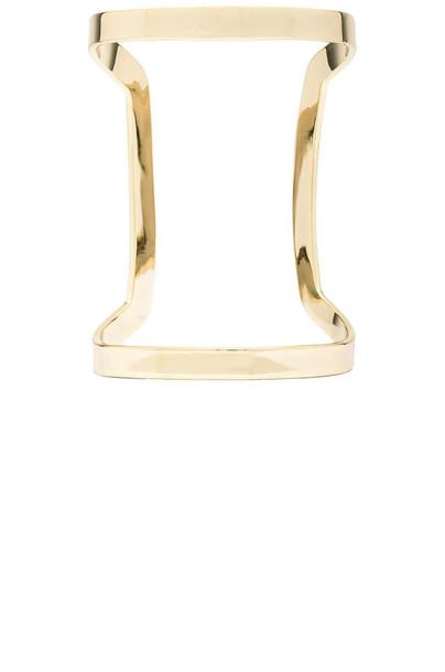 Lisa Freede Athens Cuff in gold / metallic