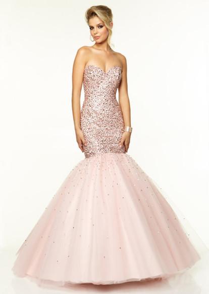 pink pink dress prom dress glitter glitter dress