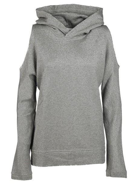 rta sweater cut-out metallic