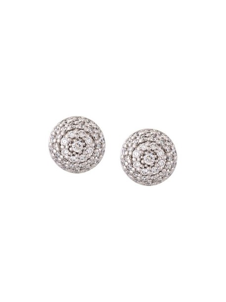 Alinka women earrings stud earrings gold white grey metallic jewels