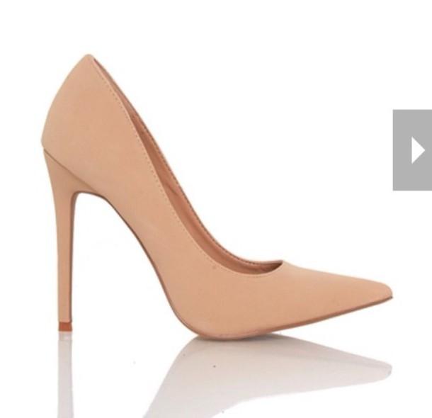 shoes nubuck suede nude pumps pumps