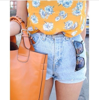 blouse alternative blogger bohemian boho chiffon cute denim floral flowers girly grunge hippie hipster instagram kawaii neon ombre pastel rainbow studs summer sunflower tropical tumblr vintage shorts sunglasses bag