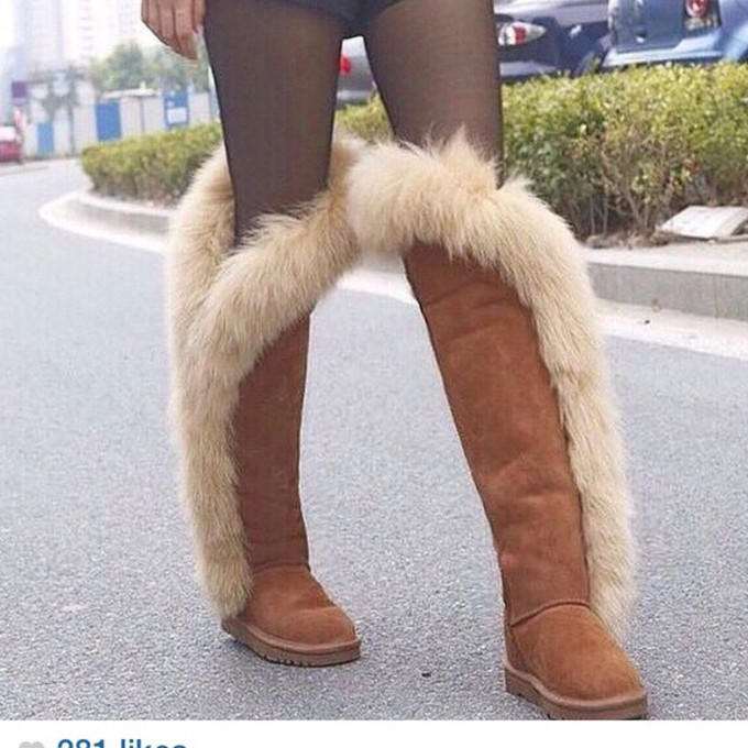 thigh high uggs boots ugg maple brown boot