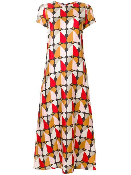 La DoubleJ dress swing dress long women silk