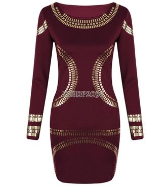 dress studded dress rhinestones