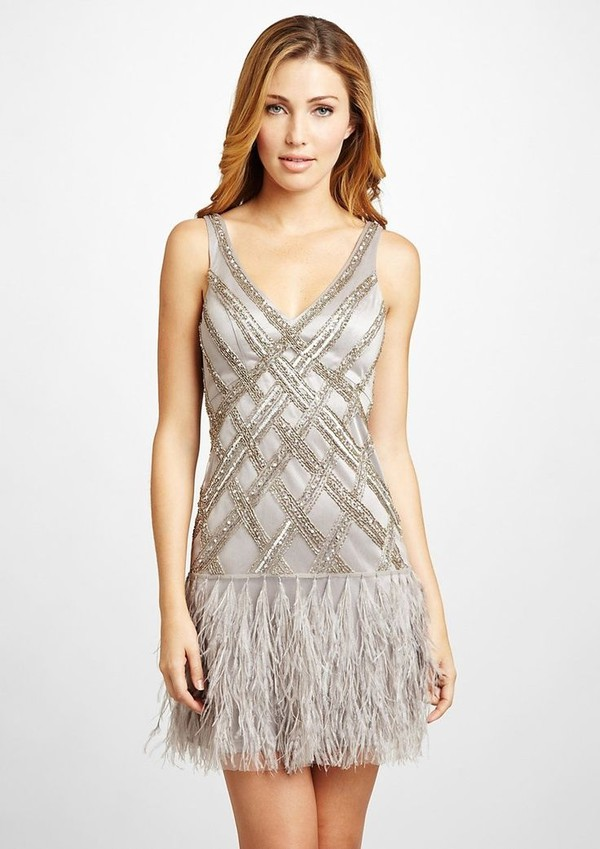 gatsby fringed dress sequin dress gatsby dress formal gatsby inspired