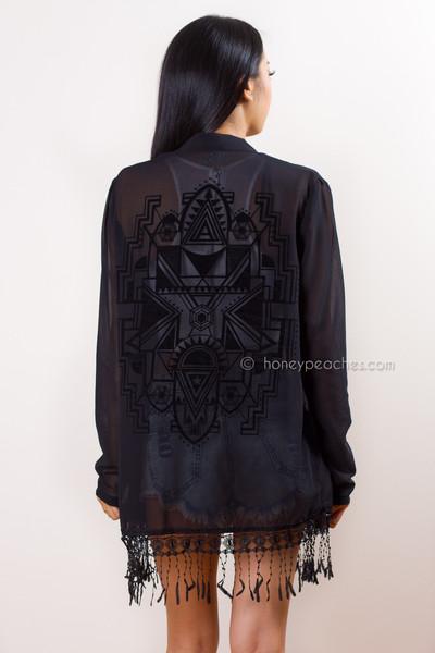 Fall for you kimono