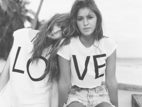 cute friendship shirt best friends top shirt bff black&white