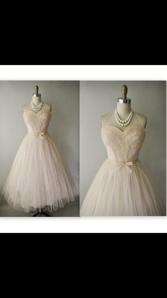 dress cream dress short dress formal dress prom dress lace dress