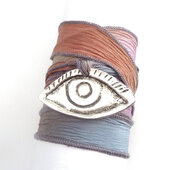 jewelry,wrap bracelet,bracelets,silk ribbon bracelet,jewels