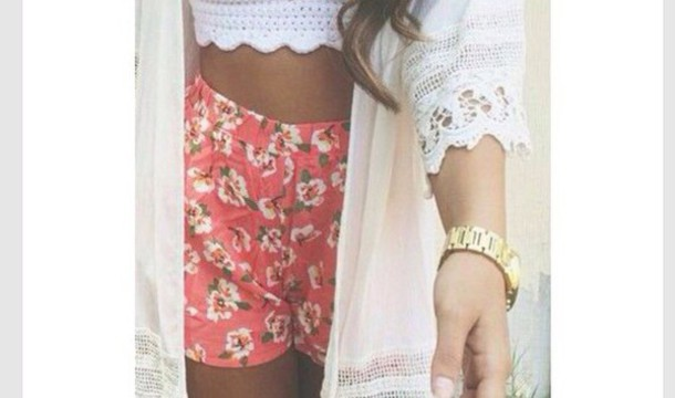 shorts spring outfits