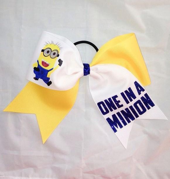 Jewels minions cute cheerleading cheerleading cheerleading sparkle one in a minion - Cute cheer bows ...