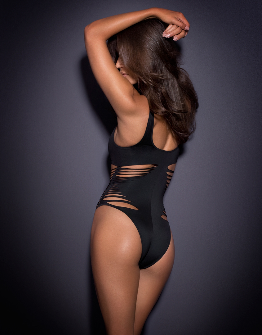 Agent Provocateur | Dakotta Swimsuit Black | Lyst